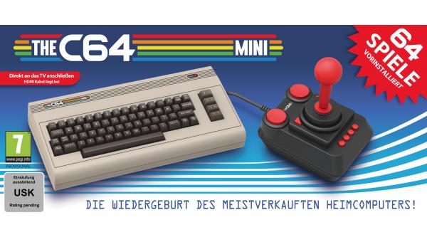 The C64 Mini: Firmware-Update erlaubt einfaches Einbinden von