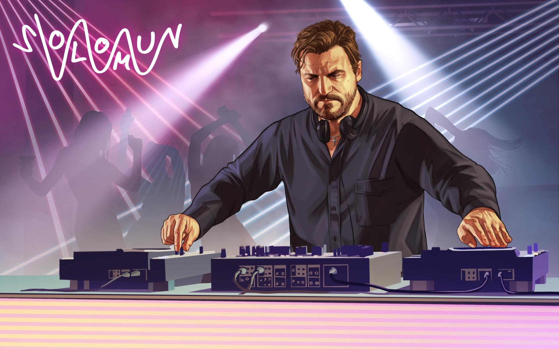 GTA 5: DJ Solomun stellt Mini-Album mit Game-Engine vor - News
