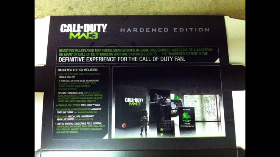 Modern Warfare 3: Inhalt der Hardened Edition bekannt - News ... on