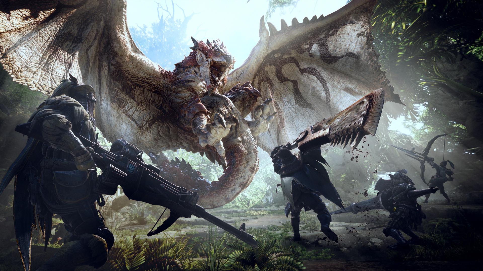 TGS2017: Release-Datum für Monster Hunter - World // Neuer Trailer ...