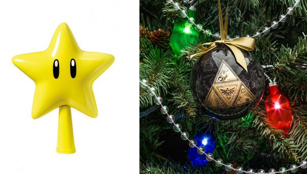 Nintendo: Mario-Weihnachtsschmuck und Zelda-Lichterkette erscheinen ...