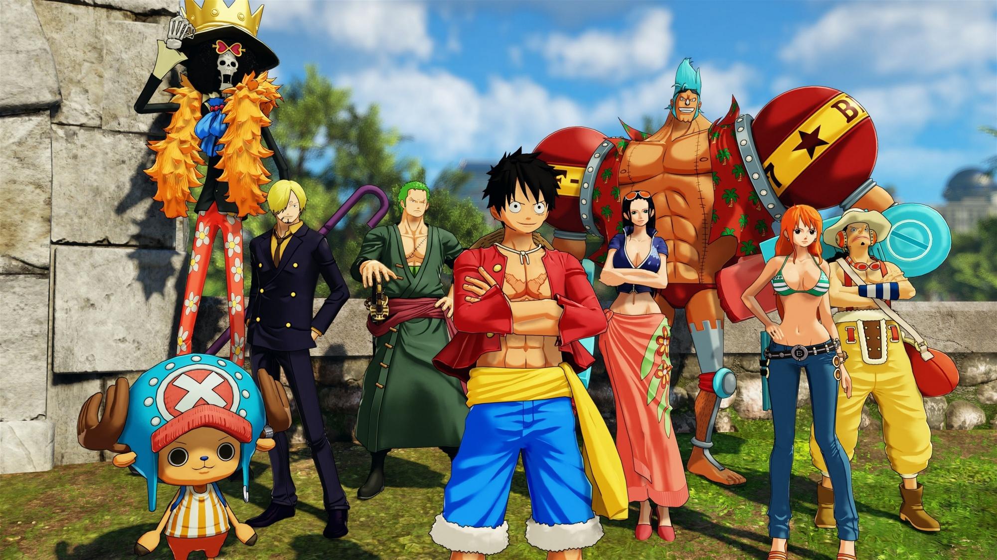 One Piece World Seeker Test