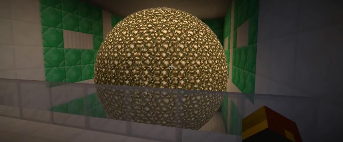 Minecraft Trick Erzeugt Runde Formen Ohne Mods News Gamersglobal De