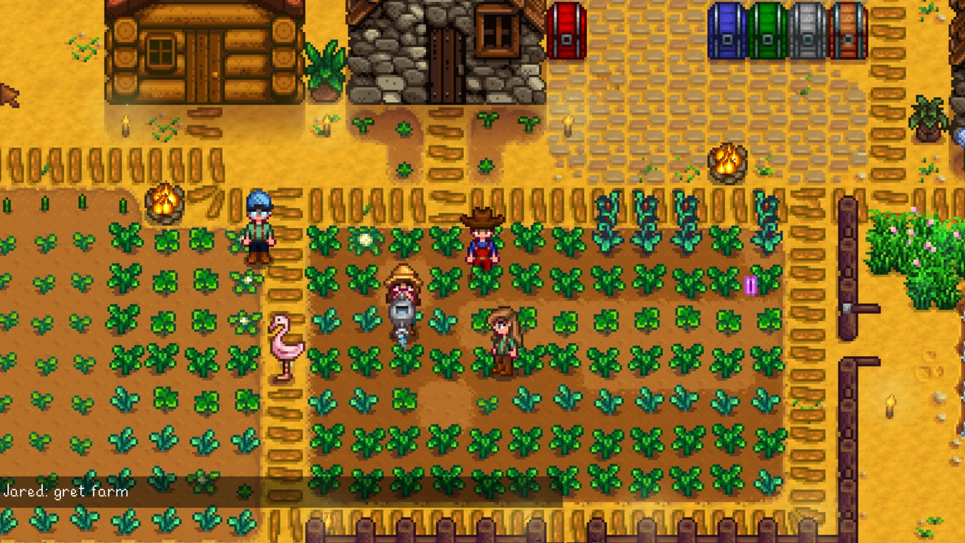 Stardew Valley Multiplayermodus Lauft Zu Viert Via Lan News
