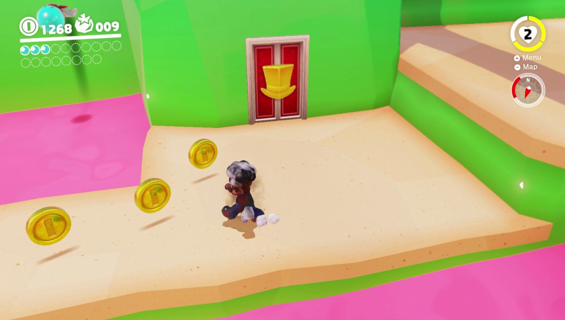 Super Mario Odyssey Preview Detailverliebtheit Steuerung Münzen