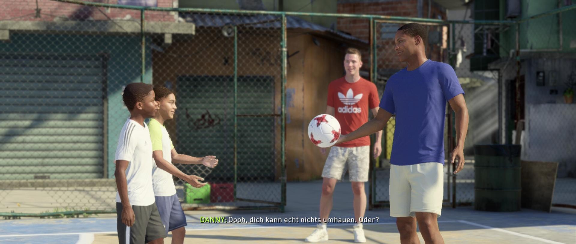 Fifa 18 Test Storymodus The Journey Hunter Returns Spielmechanik