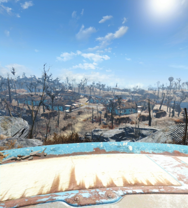 Fallout 4 VR Test - Kleine Menschen und die Teleport
