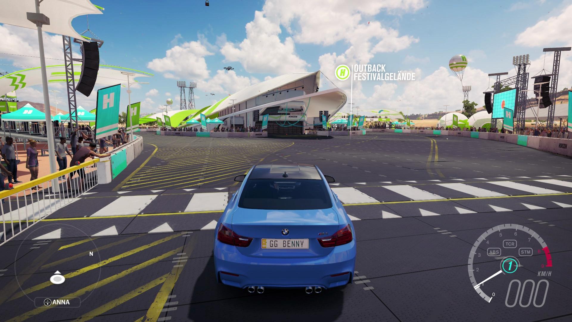 Forza Horizon 3 Test - Forza Horizon 3 Test: Festivals, Spielfigur ...