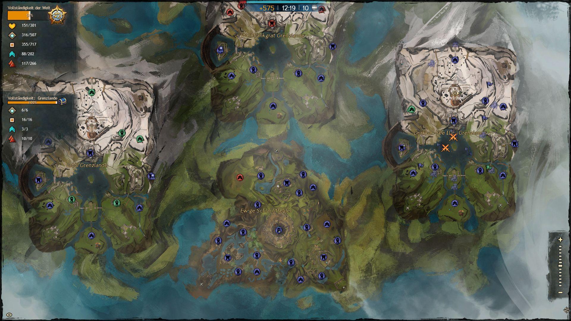 Gw2 Karte.Guild Wars 2 Test Guild Wars 2 3 Welten Pvp Langzeit Faktor