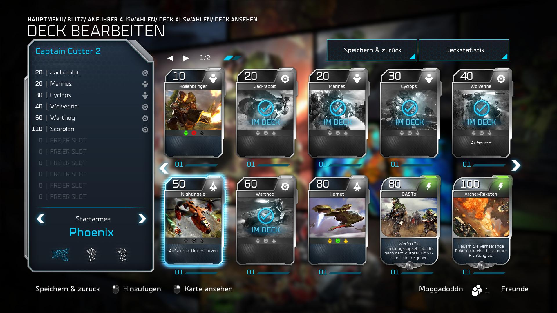 Halo Matchmaking-Karten