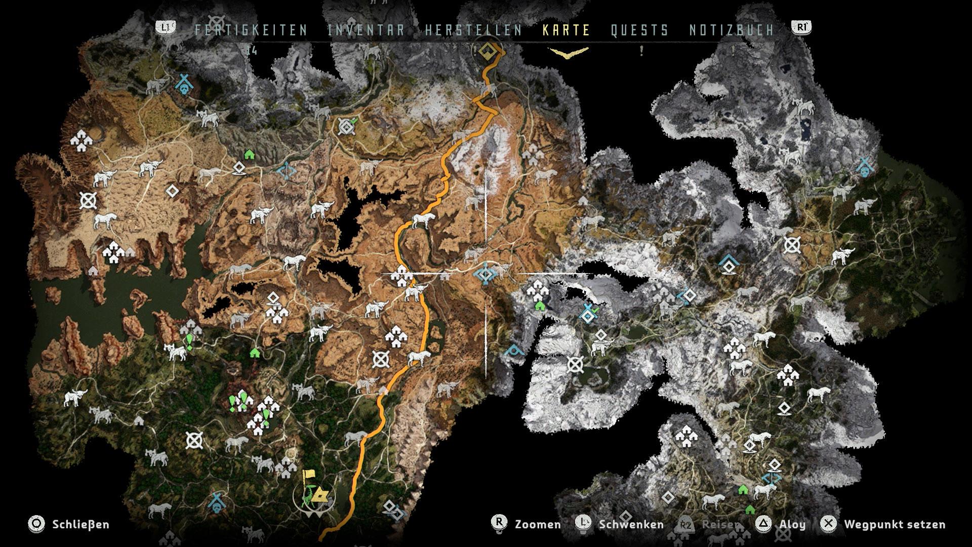 horizon karte Horizon   Zero Dawn Test   Hat jemand Far Cry Primal gesagt  horizon karte