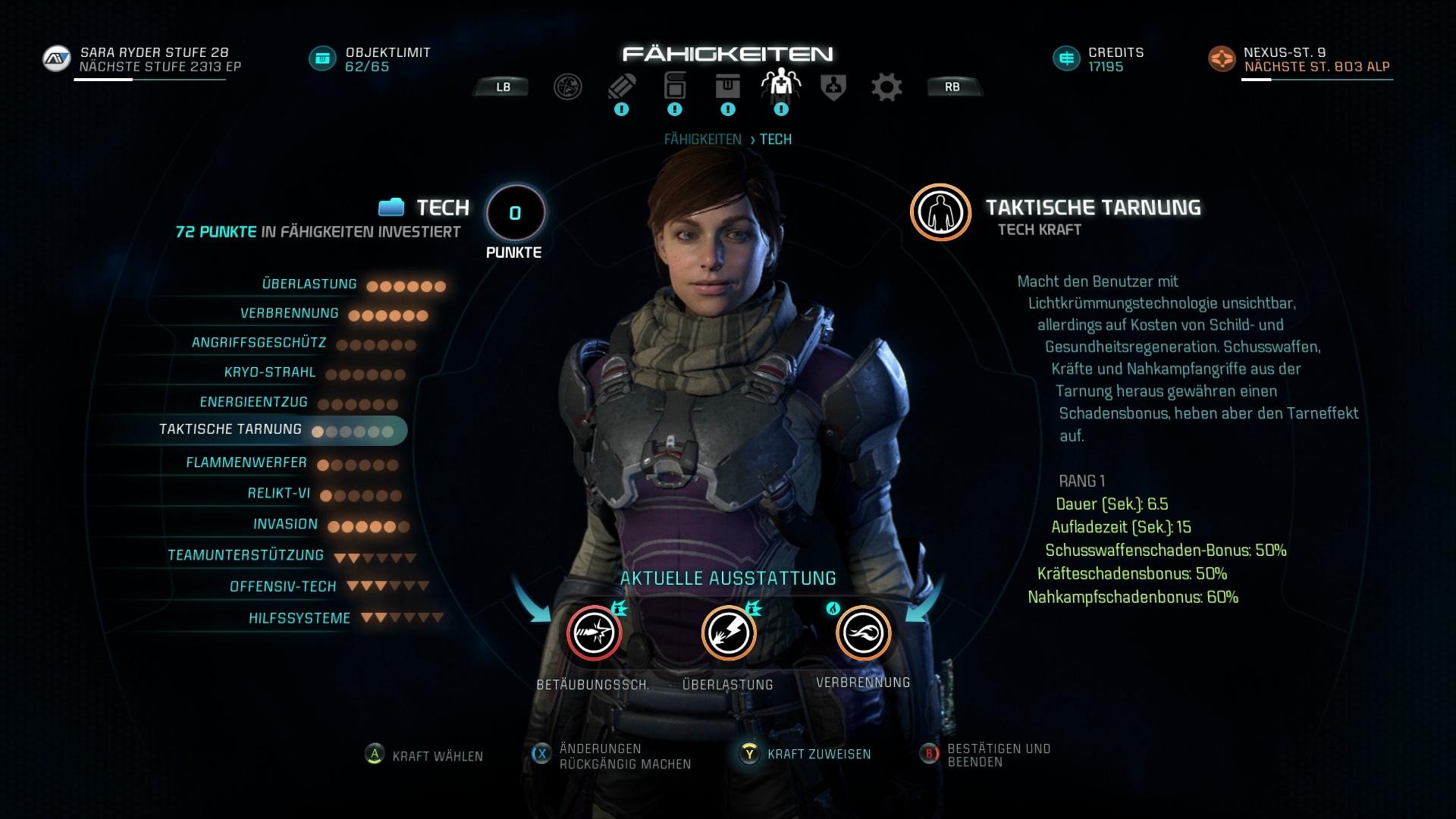 Mass Effect Andromeda Test Fähigkeiten Komplex Am Rande