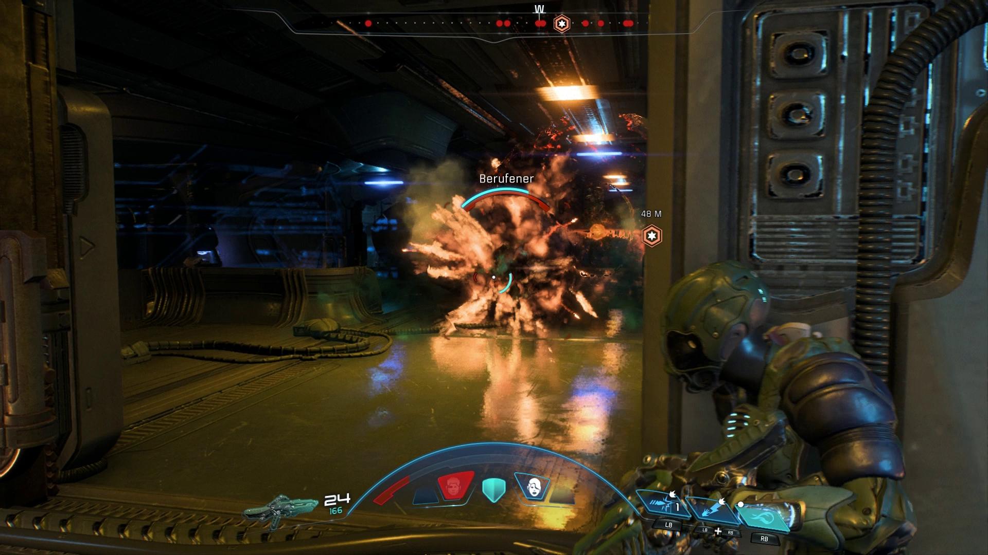 Mass Effect - Andromeda Test - Fähigkeiten, Komplex am Rande ...