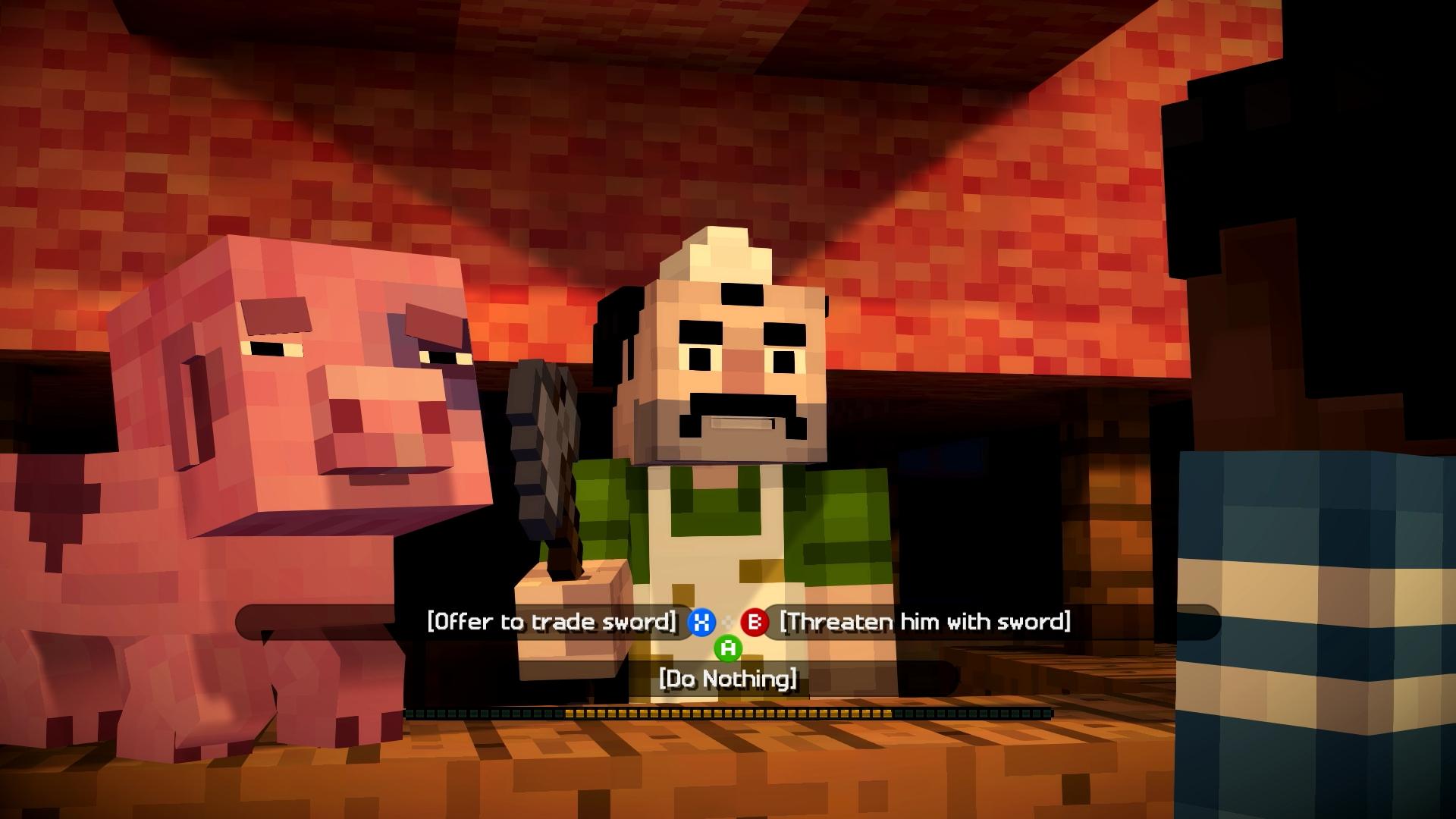 Minecraft Story Mode Test S GamersGlobalde - Minecraft spiele anschauen