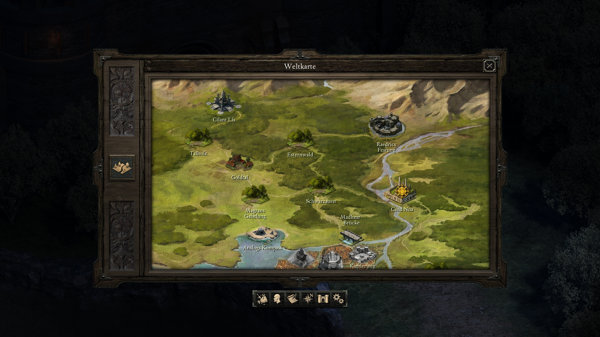 Pillars Of Eternity Karte.Pillars Of Eternity Test Gamersglobal De