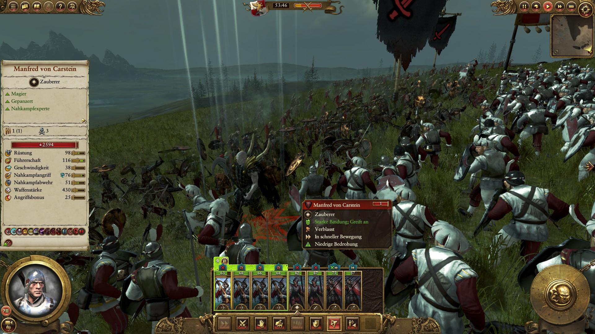 Total War Warhammer Test Total War Warhammer Vampirfürsten