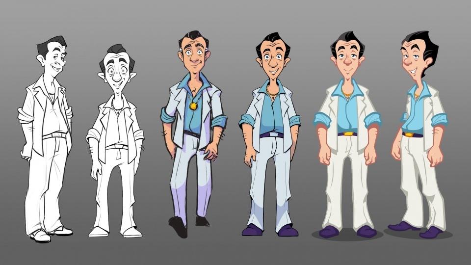 Die Evolution des neuen Leisure Suit Larry