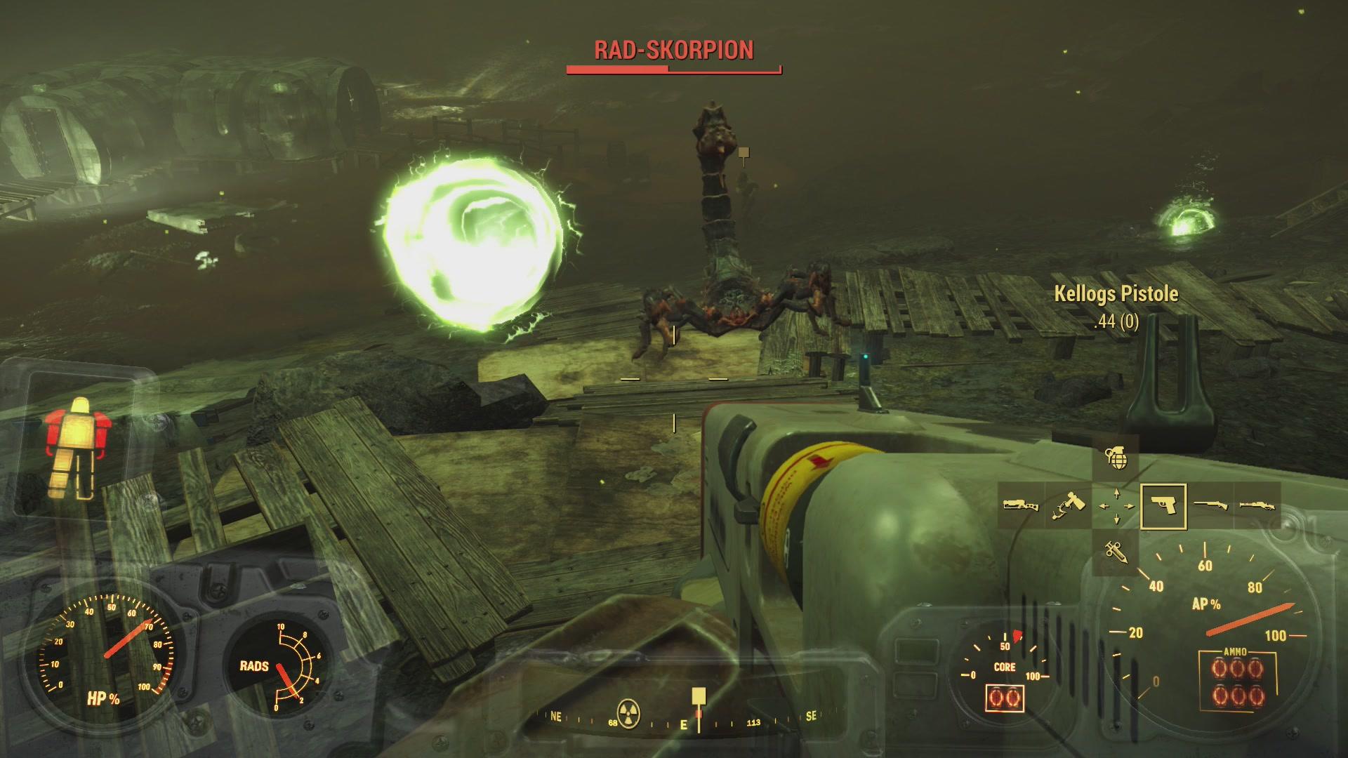 Fallout 4 Mass Fusion Festgenagelt Aktivierung Endstation