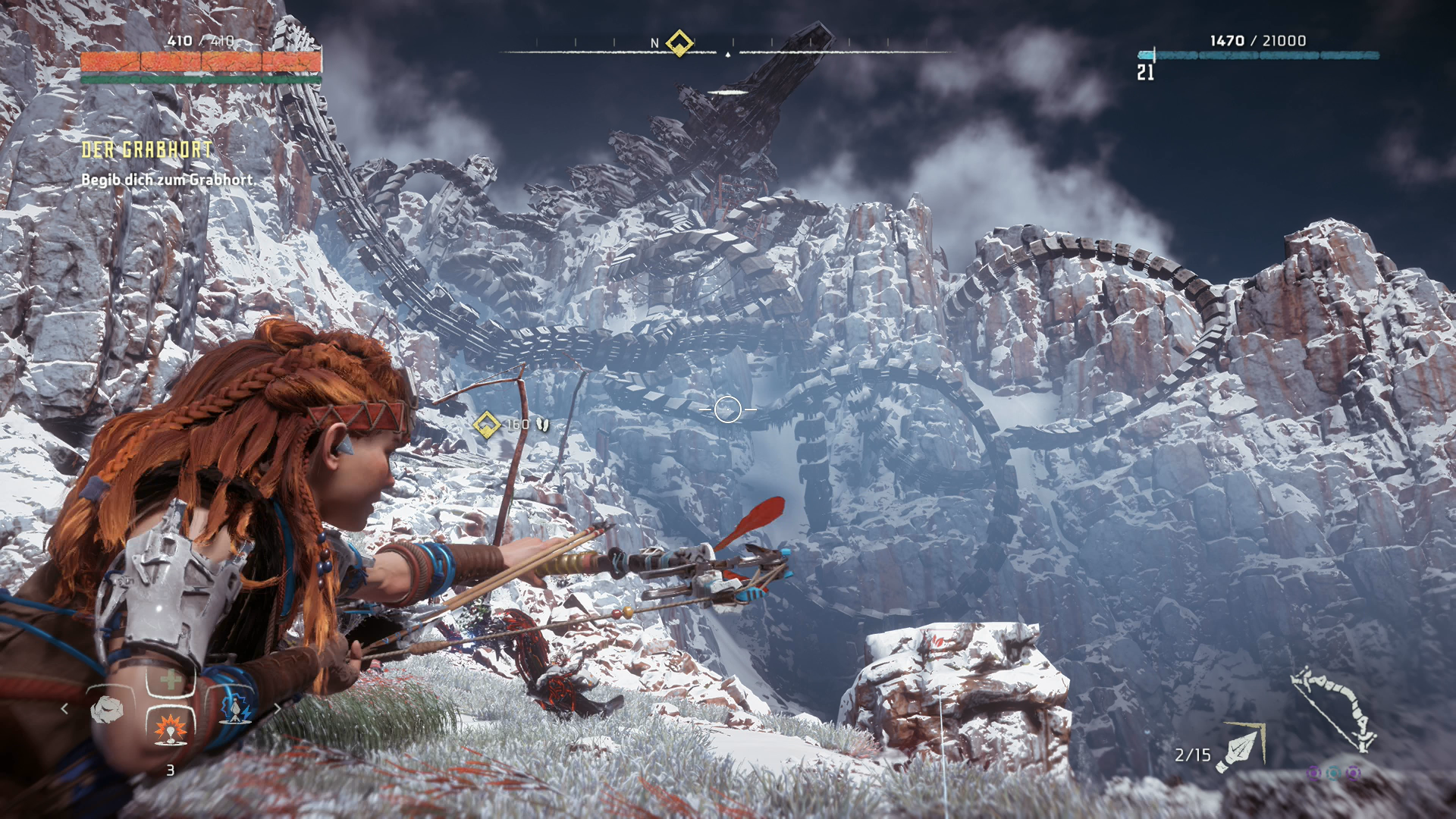 Horizon Zero Dawn Karte Ruinen.Horizon Zero Dawn Walkthrough Und Tipps Der Grabhort Kampf Gegen