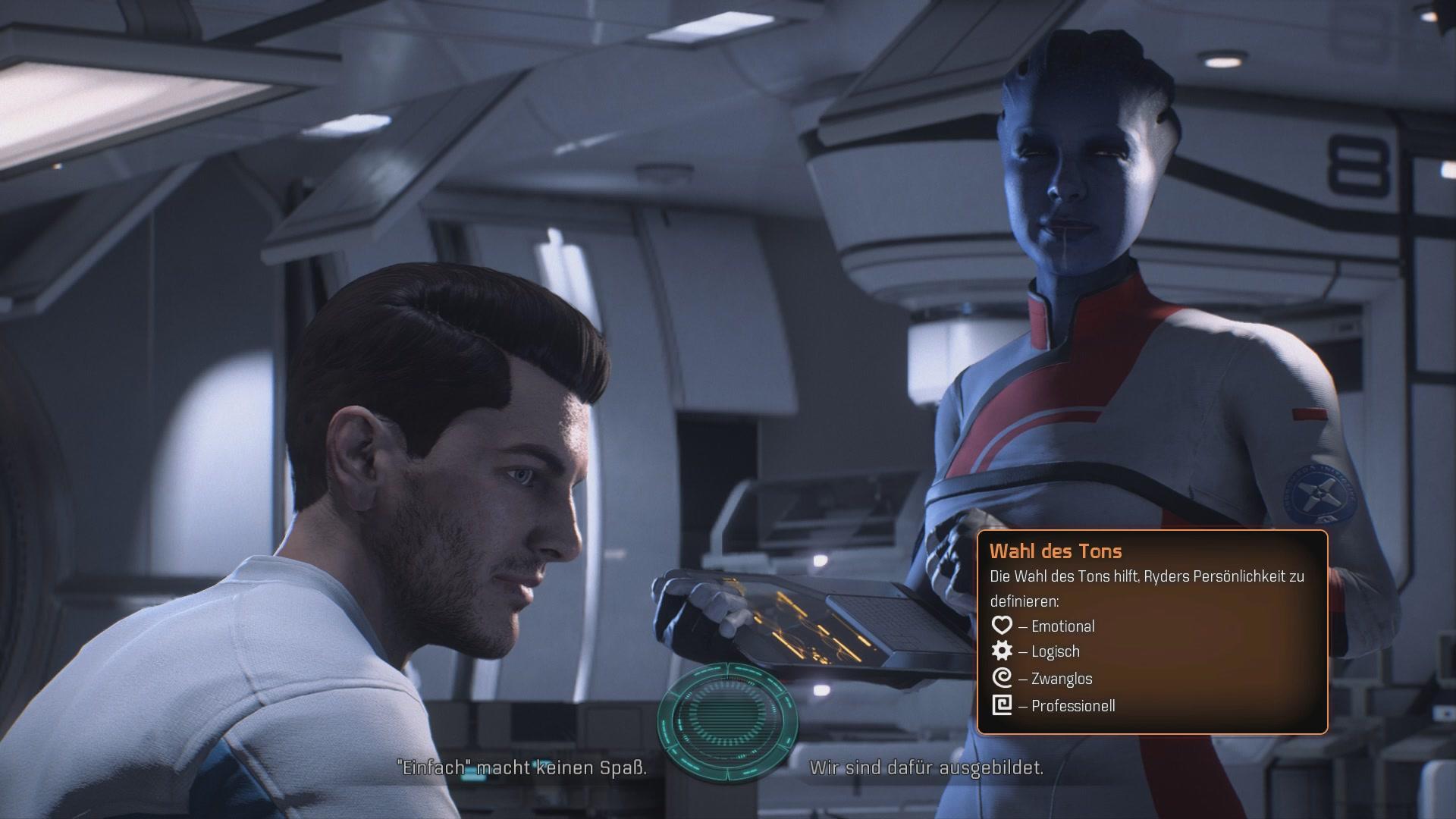 Mass Effect Andromeda Komplettlösung Prolog Planetare Realität