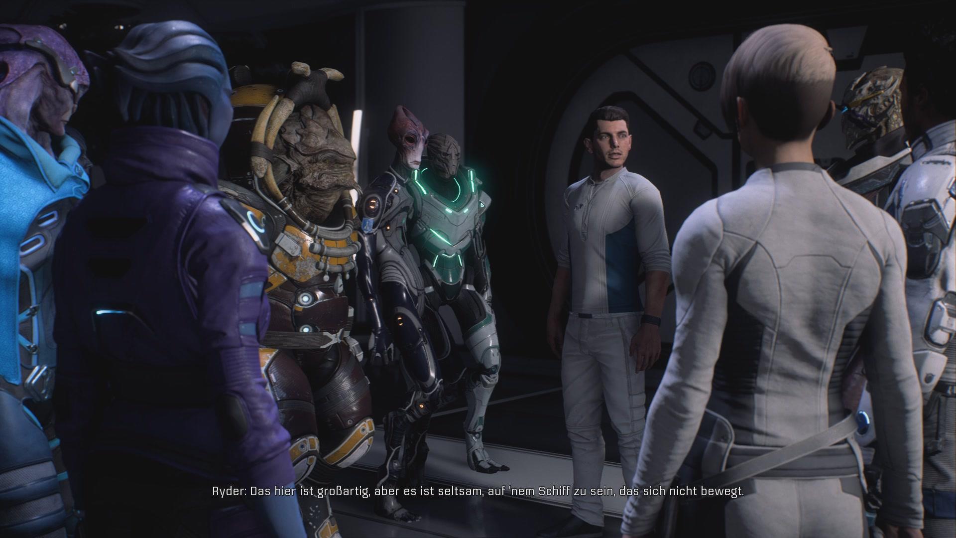 Mass Effect Andromeda Komplettlösung Loyalitätsmission Liam Kosta