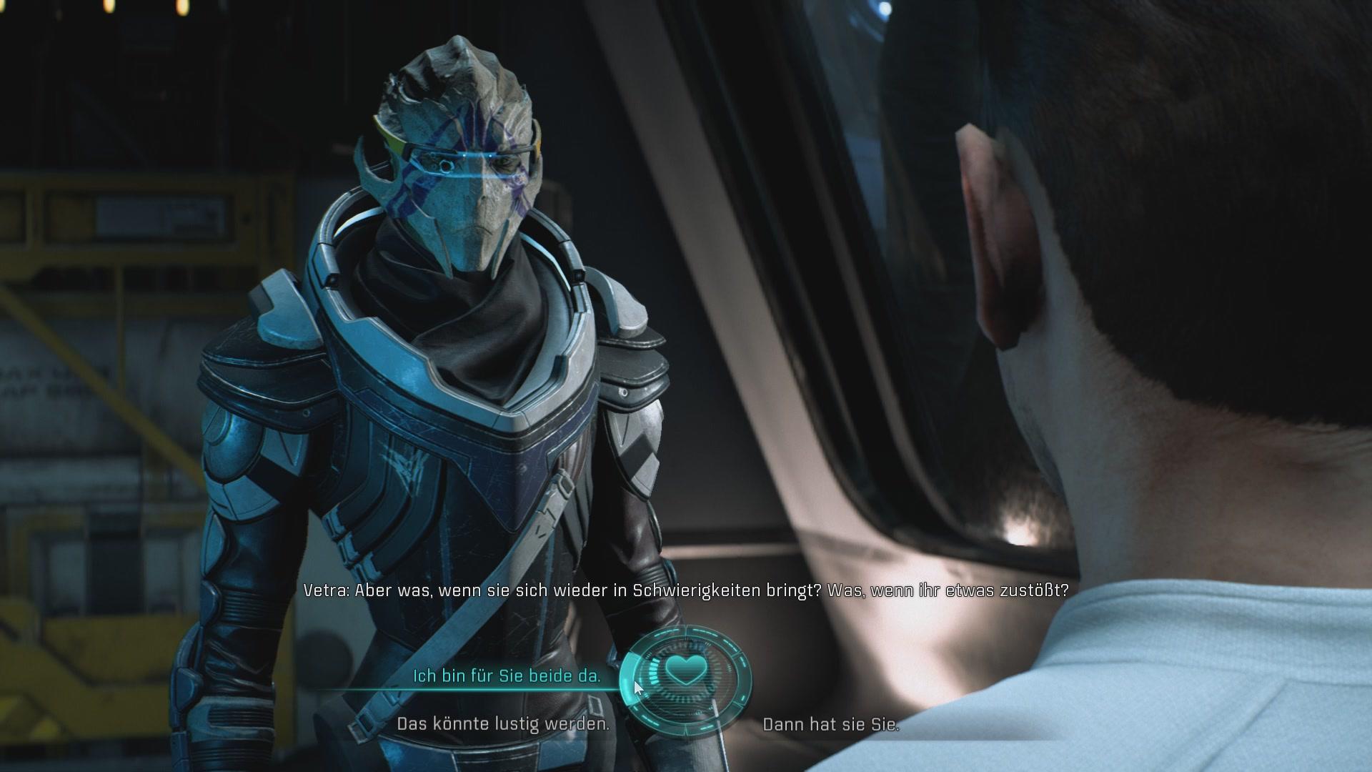 Mass Effect Andromeda Komplettlösung Romanzen Flirten Partner