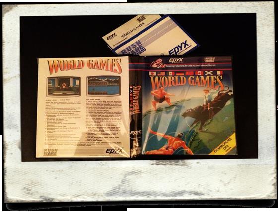 Q-Berts einziges Original Commodore 64 Spiel.