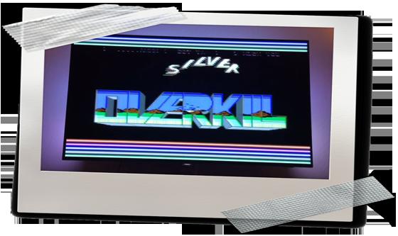 Q-Berts Crack-Intro auf dem Commodore 64