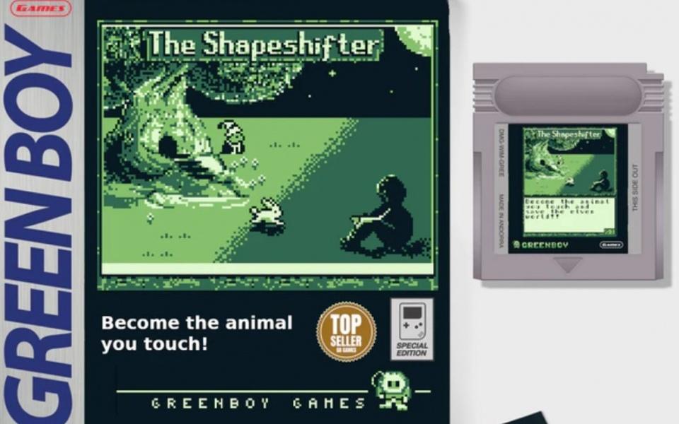 Box und das GameBoy-Modul von The Shapeshifter.